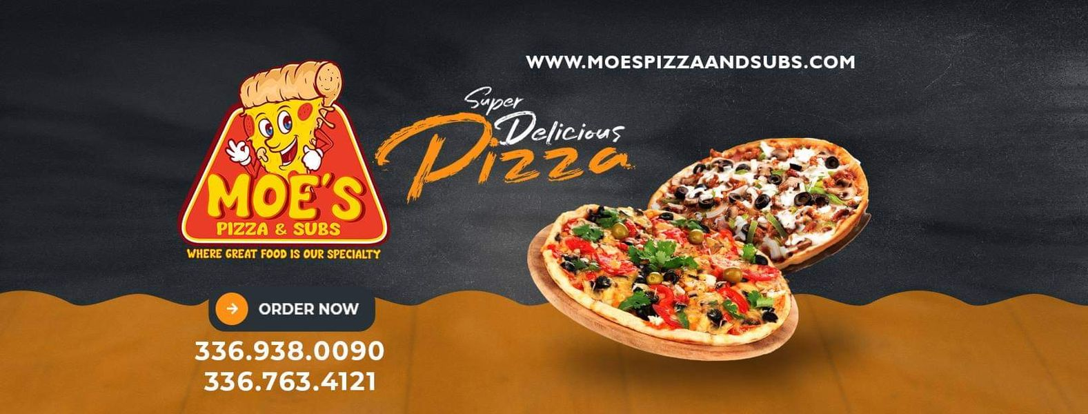 Picture of Moe's Pizza and Subs Greensboro NC